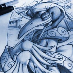 sketch book frank LaNatra